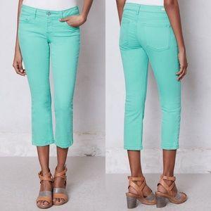 Pilcro Jeans Stet Crop Aqua 29 Slim Anthropologie